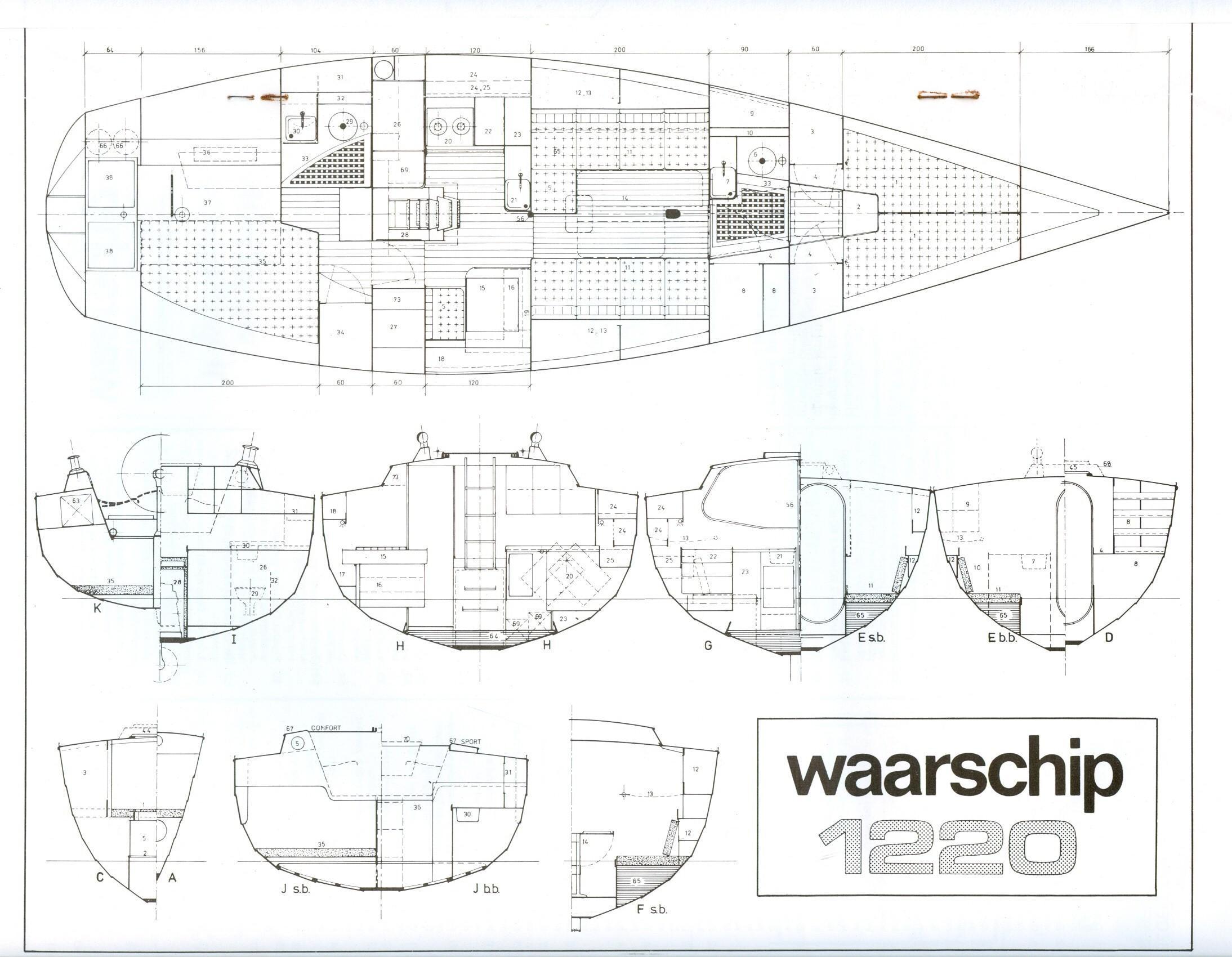 W1220 tekening